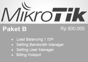 Paket B Setting Mikrotik