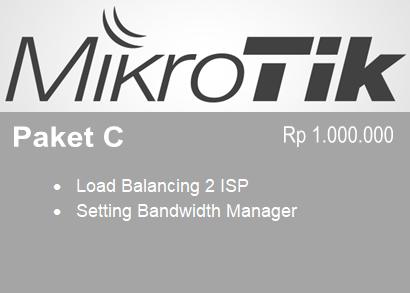 Paket C Setting Mikrotik