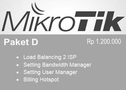 Paket D Setting Mikrotik